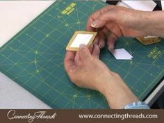 English Paper Piecing Tutorial. One day I will try this. One day.