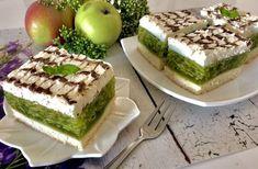 Ciasto Zielone Jabłuszko - Blog z apetytem Baking Tips, Baking Recipes, Cake Recipes, Dessert Recipes, Polish Recipes, Food Cakes, Homemade Cakes, Yummy Cakes, Meal Planning