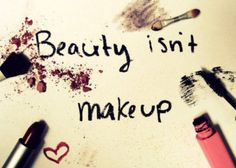 Beauty is who you are, not what you look like