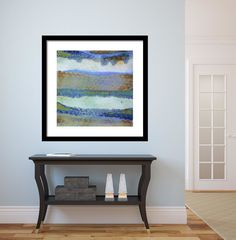 Contemporary Wall Art Decor abstract framed wall art - square #33 | contemporary frames