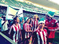Under12s , Champion of Champions march at Sydney Football Stadium.