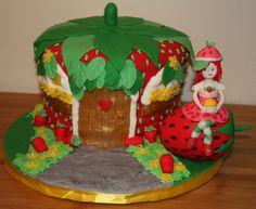 Strawberry Shortcake Cake, Happy 7th Birthday Mia!