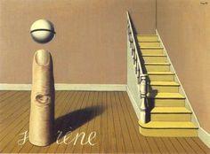 Rene Magritte - Forbidden Literature or The use of the Word (Irene)- La Lecture Defanse ou L'Usage de la Parole, 1936