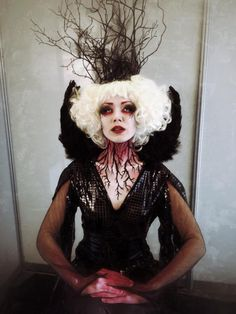 Wonderfully twisted.  Nicole Chilelli Mua