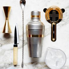 If You Wanna Be a Home Bartender, Master These 6 Things #homebartender #6things #thelibationreport http://www.bonappetit.com/drinks/cocktails/article/cocktail-essentials