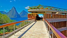 Jade Mountain. Soufriere, St. Lucia