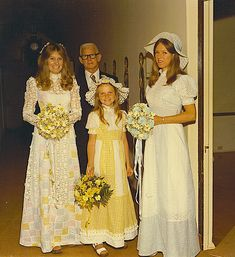 U can't beat classic 70s bridal glamour.