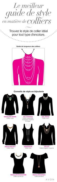 Consultez le meilleur guide des style en matière de colliers. #AvonCanada