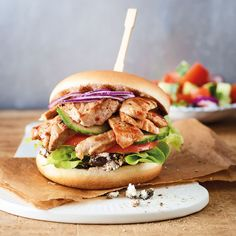 Weight Watchers Menu, Weigh Watchers, Meat Recipes, Healthy Recipes, Tasty, Yummy Food, Salmon Burgers, Low Carb, Food And Drink
