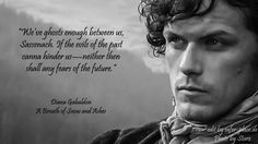 Picture and Quote from Outlander