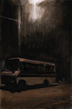 william wray -   dark bus