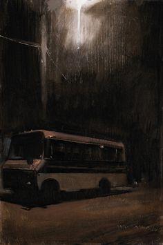 william wray -   dark bus