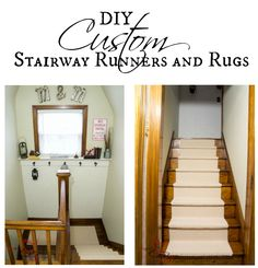 DIY Custom Stairway Runners and Rugs! Home Decor Quotes, Home Decor Wall Art, Diy Home Decor, Stairway Decorating, Decorating Your Home, Custom Area Rugs, Modern Style Homes, Home Decor Accessories, Rugs