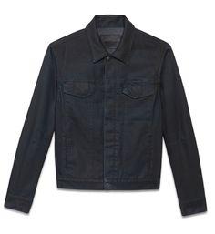 Helmut Lang BLUE ASH DENIM JACKET on helmutlang.com would look great with some dark charcoal jeans