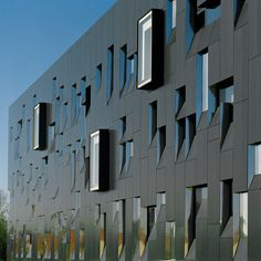 Perimeter Institute for Theoretical Physics, an independent research centre in foundational, theoretical physics located in Waterloo, Ontario, Canada by Saucier + Perrotte Architectes