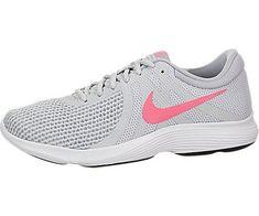 Nike Women s Revolution 4 Running Shoe Pure Platinum Sunset Size 9 Nike  Running, Nike Free 8a154e83d3