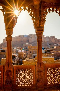 View of Jaisalmer Fort from one of the Havelis Posted by - Shabi Khan