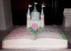 Story Book Cake w/Castle on to (Sweet 16)