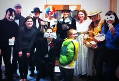 Suzanne, Brian, Shawna, Bill, Laura, Molly, Loren, Megan, Dawn, Judy, and Ann-Li on Halloween at Benevon - 2013.
