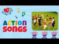 Kids Exercise Video Song | Attention March | Children Love to Sing Kids Action Fitness Songs - YouTube