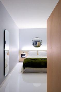 Une chambre design à la lumière modulable - 50 inspirations pour chambres