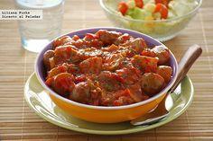 Patatas en salsa picantona