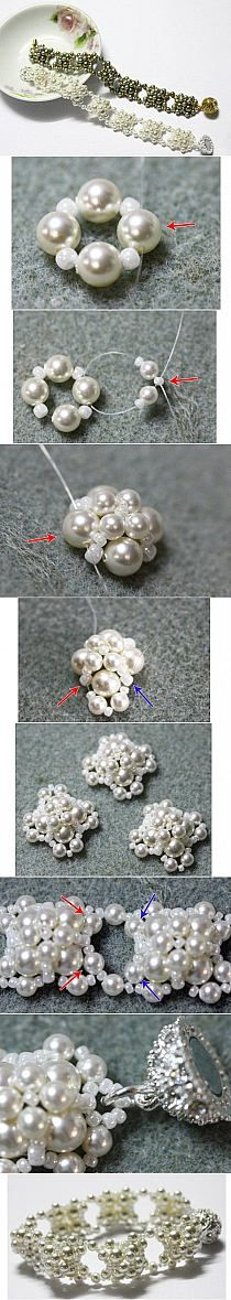DIY Pearl Beaded Bracelet DIY Projects | UsefulDIY.com