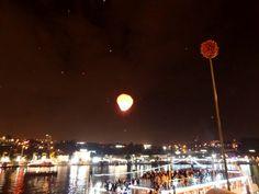 Alho-porro na noite de S. João (Porto)