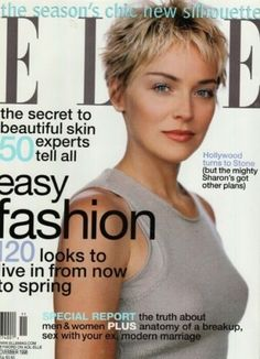 November 1998 cover with Sharon Stone