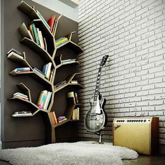 Creative Book Storage