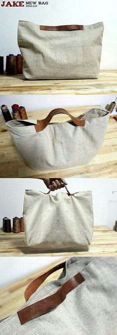 Handles of beach bags handles of beach bags ThHandles of beach bags handles of beach bags ThUrban Traveler Tote Bag Pattern This is a must for the ur .Urban Traveler Tote Bag Pattern This is Diy Sac, Linen Bag, Fabric Bags, Handmade Bags, Bag Making, Leather Bag, Purses And Bags, Reusable Tote Bags, Totes