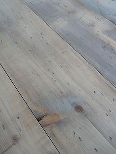 Great finish: Wide Reclaimed Pine Floorboards WIDE Floor Boards resawn from seasoned beams Painted Wooden Floors, Wooden Flooring, Hardwood Floors, Hallway Flooring, Kitchen Flooring, Georgian Interiors, Pine Floors, Exterior Paint Colors, Floor Colors