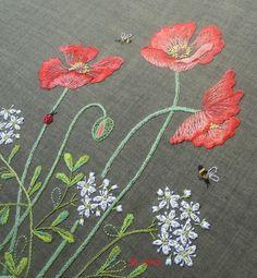 вышивка по японским книгам, Sadako Totsuka - Herb Embroidery on Linen, Садако Тотцука, японские книги по вышивке