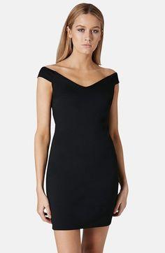 Topshop 'Bardot' Body-Con Dress available at #Nordstrom