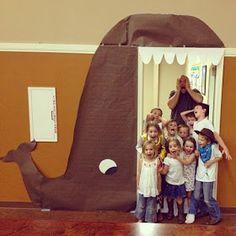 Whale classroom door