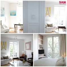 #Bright #contemporary #furnished 2-bedroom in the 17th arrondissement.