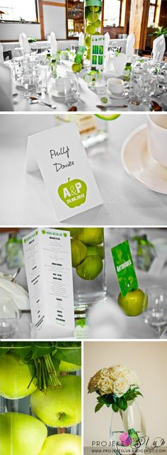green apple weddings