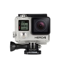 GoPro HERO4 BLACK 4K Action Camera - ID224316 - HERO4 Black is the first camera of its kind to feature ultra high-resolution, high frame rate video as powerful as this. Once the exclusive domain of large, costly cameras, HERO4 Black delivers truly professional video quality in a tiny package. Stunning clarity. Liquid-smooth slow- motion playback. Cinema-quality capture. HERO4 Black brings it all. - Auction | Buy Now - StorePassion.Com Auctions | United States Version