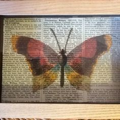 """need to try something like this:  tissue paper over old book pages try this on the """"dictionary"""" project I want to do"""