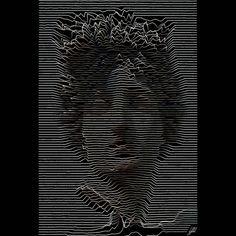 #ancient #statue #apollo #artwork #art #lines  Head of Apollo.