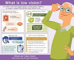 www.nei.nih.gov Low Vision infographic
