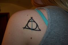 Wonderful Deathly Hallows tattoos from Harry Potter