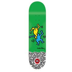 Bledsoe Haring now featured on Fab. [Skate deck, board, Keith Haring, Alien Workshop]
