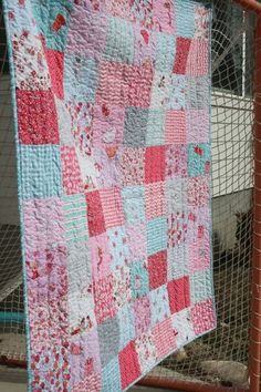 children at play patchwork quilt I