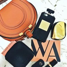 #LOVE this #flatlay by @misssandracarmen featuring her brand new Drive wallet in black (in amazing company!) Available now www.walkeravenue.com.au 👌🏻