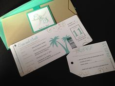 Items similar to Destination Wedding Invitations - Passport Wedding Invitations - Airline Ticket Wedding Invitations - Beach Wedding Invites on Etsy 2016 Wedding Trends, Passport Wedding Invitations, Hopeless Romantic, Wedding Paper, Wedding Details, Wedding Planning, Pins, Paper Products, Funny Stuff