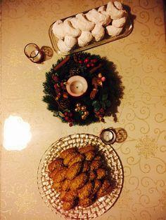 Griechische Weihnachtskekse