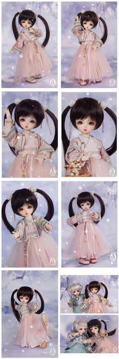 (AS Agency)BJD Rongrong 26cm Ball Jointed Doll_26cm doll_Angell Studio_DOLL_Ball Jointed Dolls (BJD) company-Legenddoll
