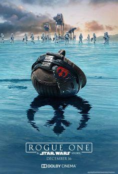 2016年12月16に公開を控える本年度最注目映画『ローグ・ワン/スター・ウォーズ・ストーリー』からIMAX上映向けポスターが公開