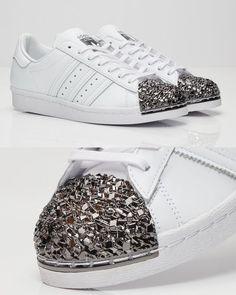 detailed look 53b7f ce250 😍😘follow  yetty g 💓💜 Zapatos Adidas, Zapatillas Adidas Superstar, Moda